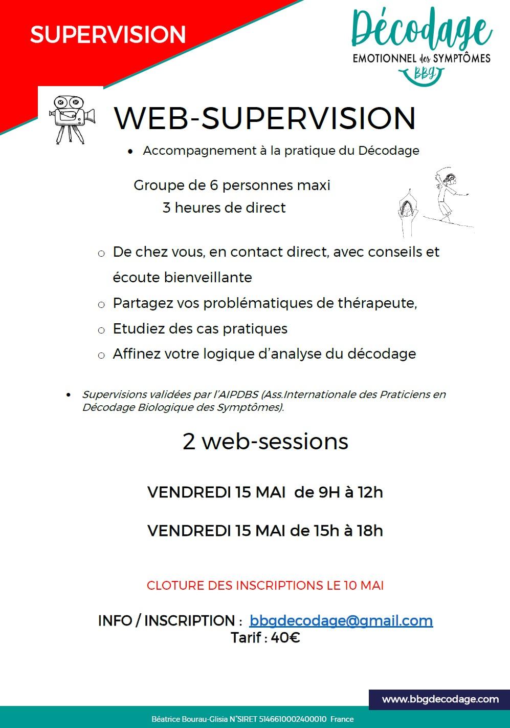 Web-supervision decodage-biologique
