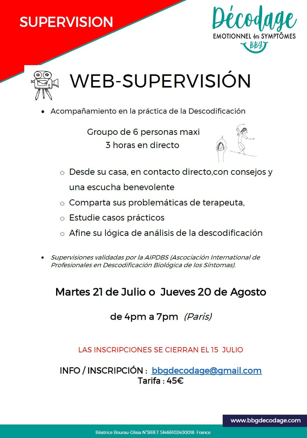 Supervision descodificacion biologica