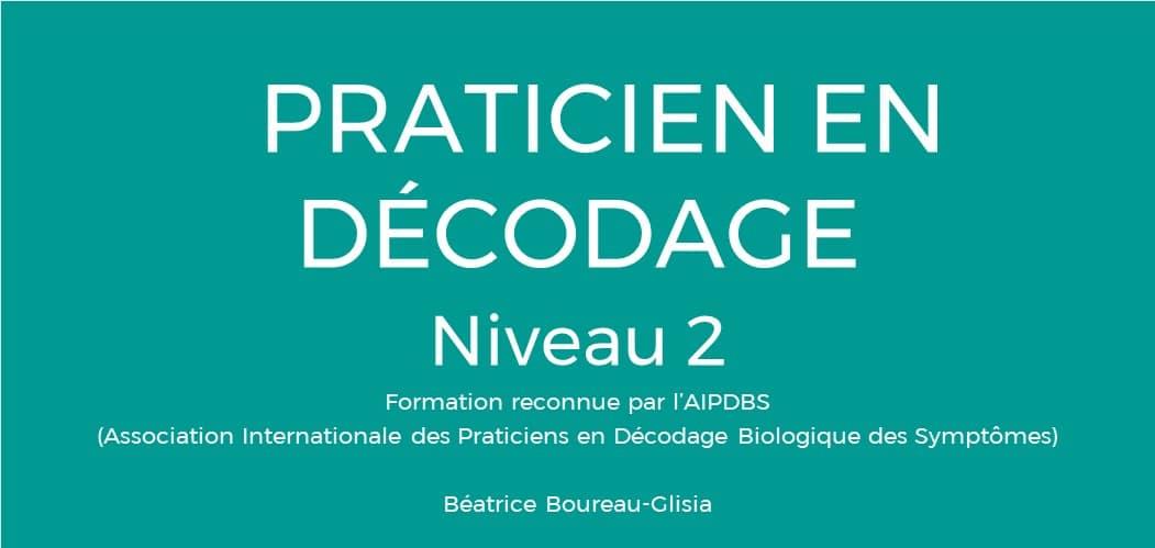 Niveau 2 biodécodage